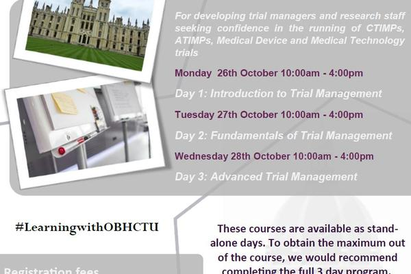 fundamentals of trial management